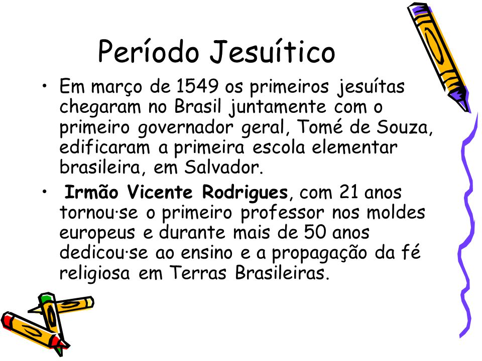 Período Jesuítico