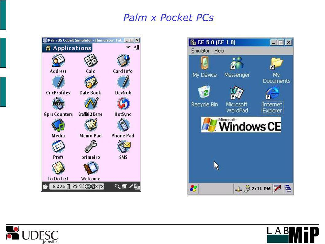 Palm x Pocket PCs