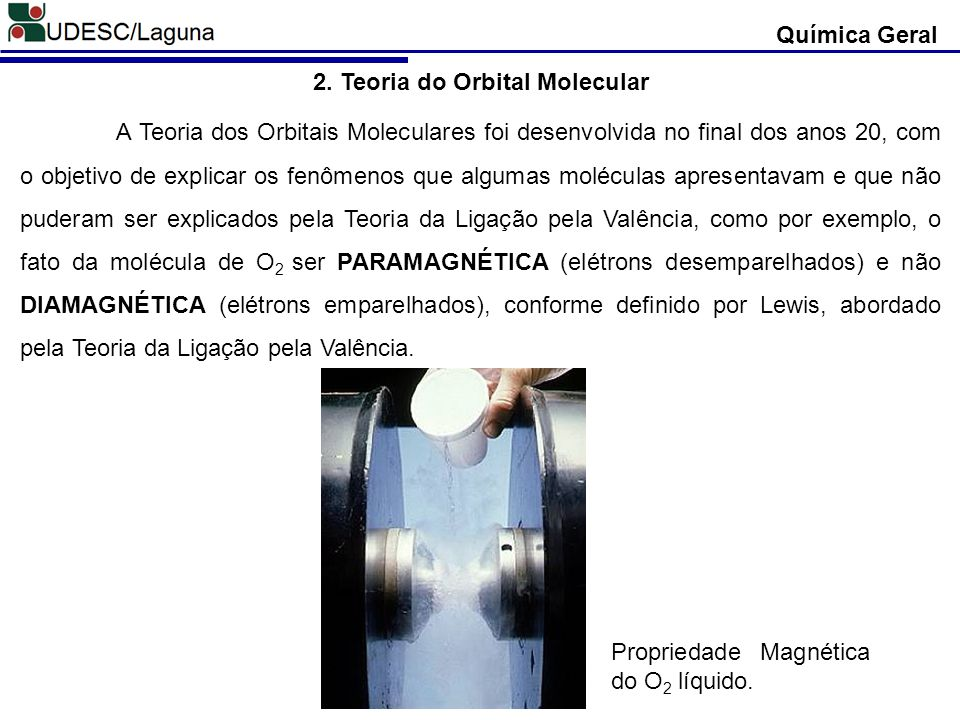 2. Teoria do Orbital Molecular