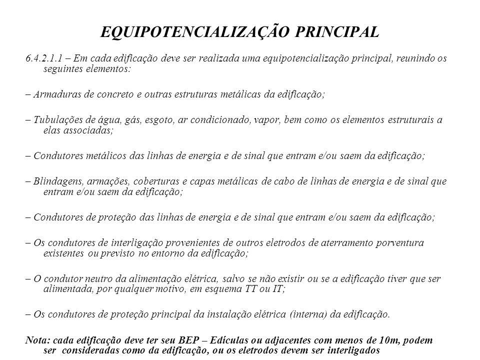 EQUIPOTENCIALIZAÇÃO PRINCIPAL