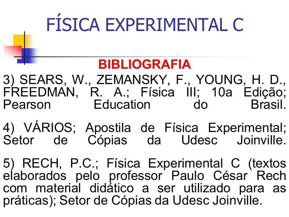 FÍSICA EXPERIMENTAL C BIBLIOGRAFIA