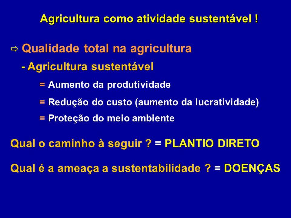 Agricultura como atividade sustentável !