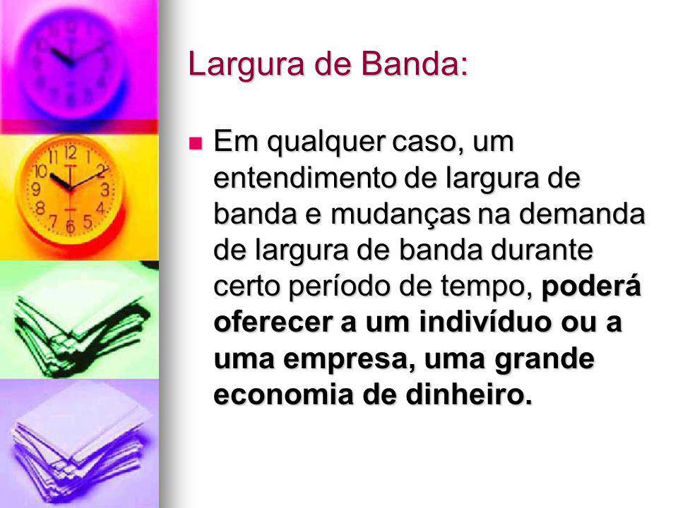 Largura de Banda:
