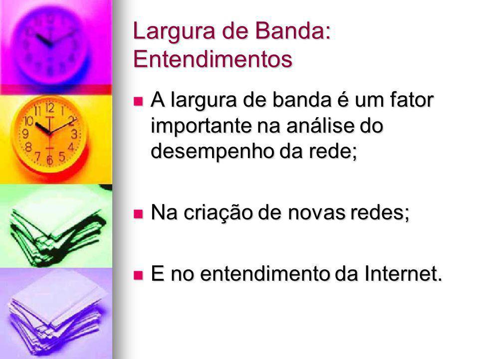 Largura de Banda: Entendimentos