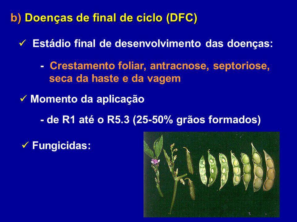 b) Doenças de final de ciclo (DFC)