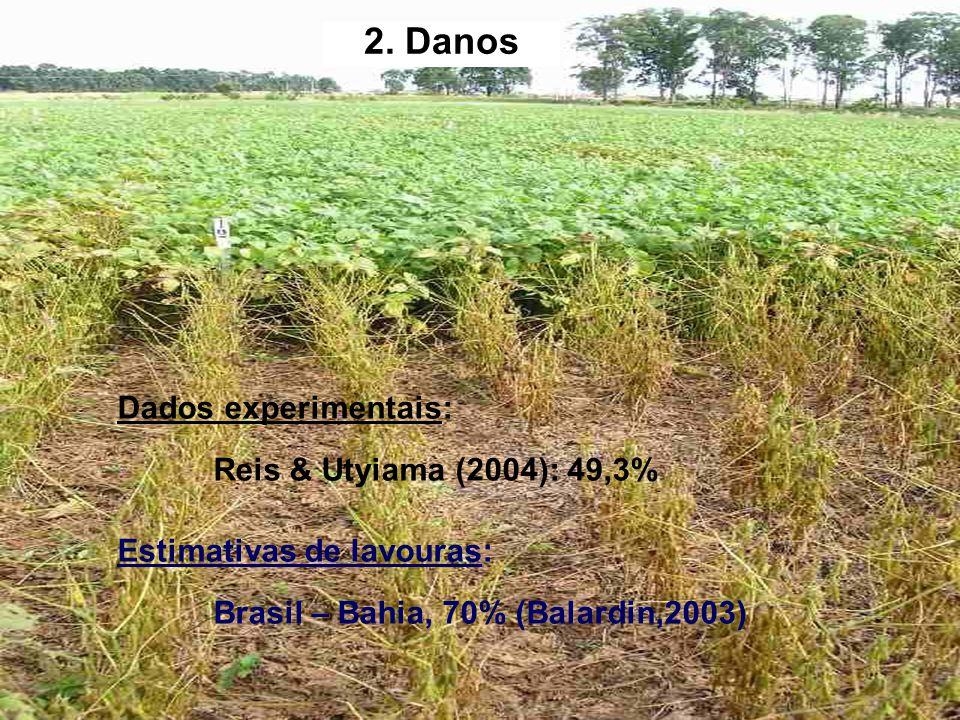 2. Danos Dados experimentais: Reis & Utyiama (2004): 49,3%