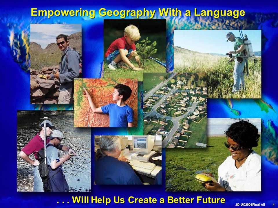 Empowering Geography With a Language