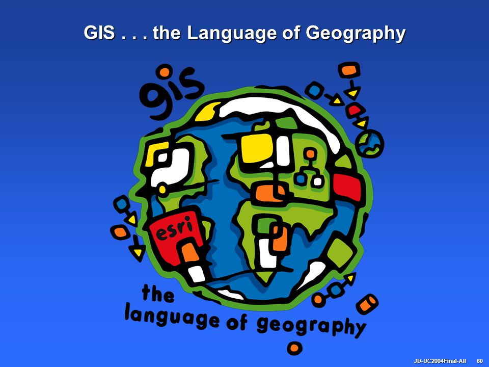 GIS . . . the Language of Geography