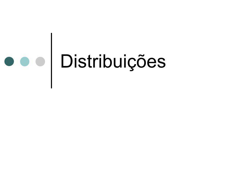 Distribuições
