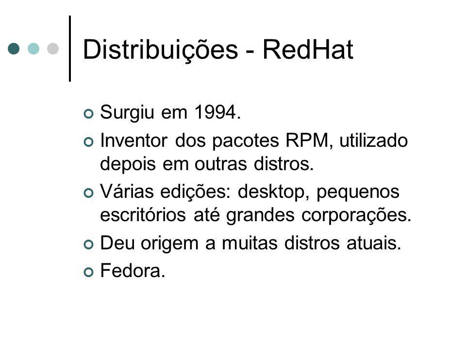 Distribuições - RedHat