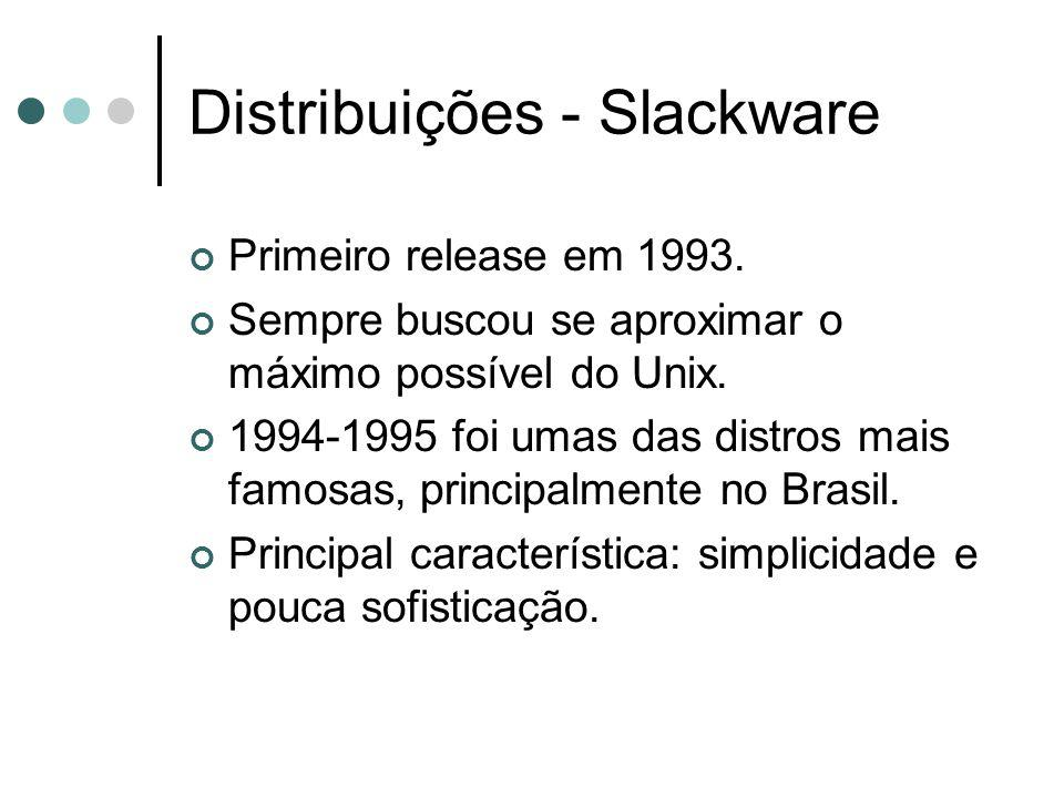 Distribuições - Slackware