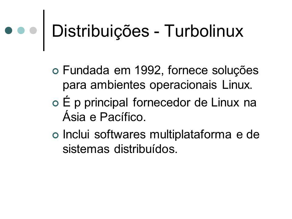 Distribuições - Turbolinux