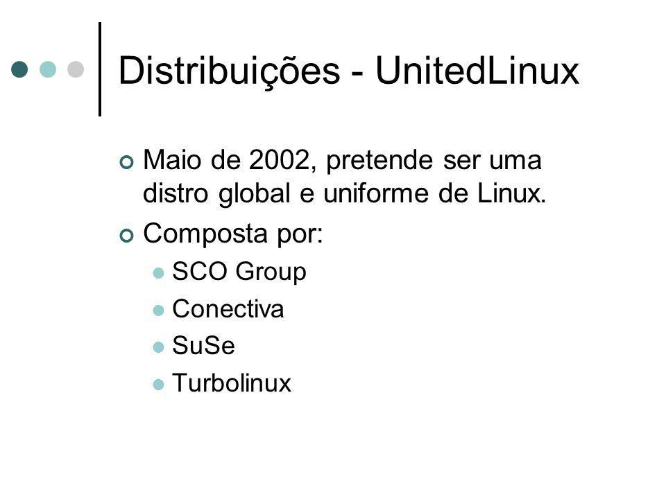 Distribuições - UnitedLinux