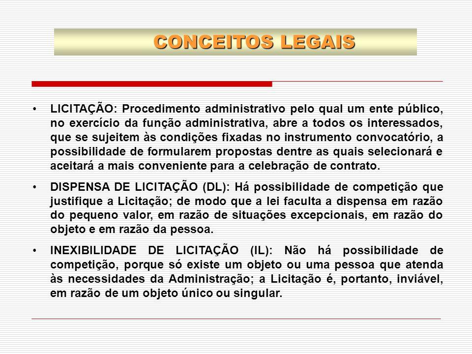 CONCEITOS LEGAIS