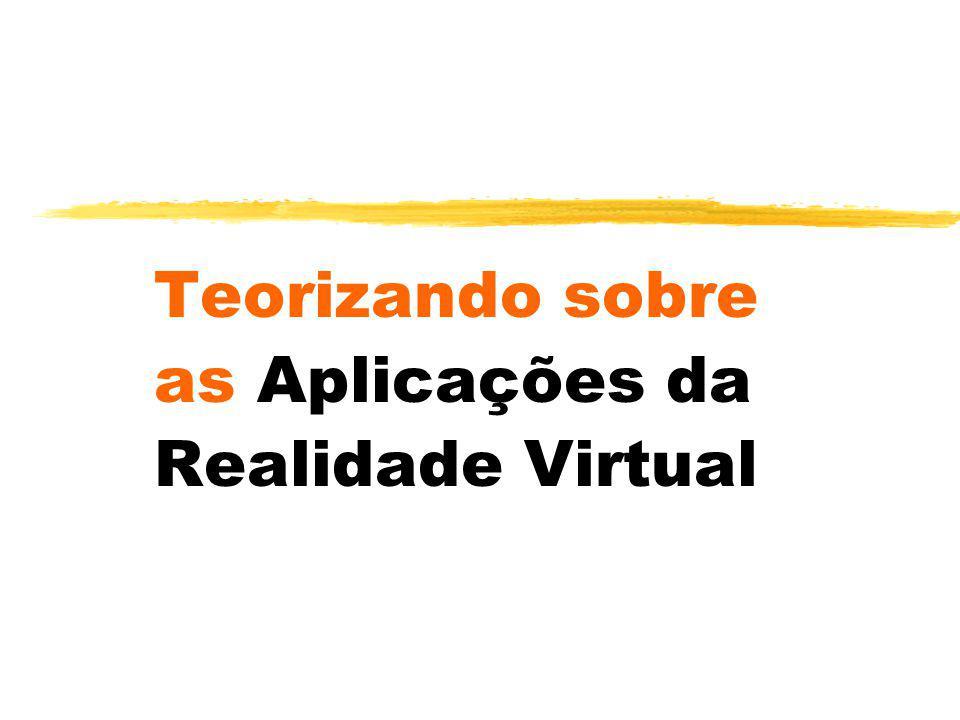 Teorizando sobre as Aplicações da Realidade Virtual