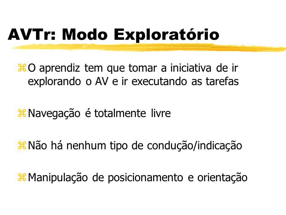 AVTr: Modo Exploratório