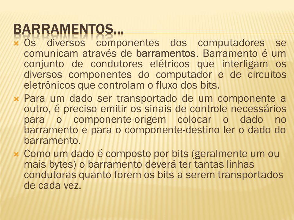 BARRAMENTOS...