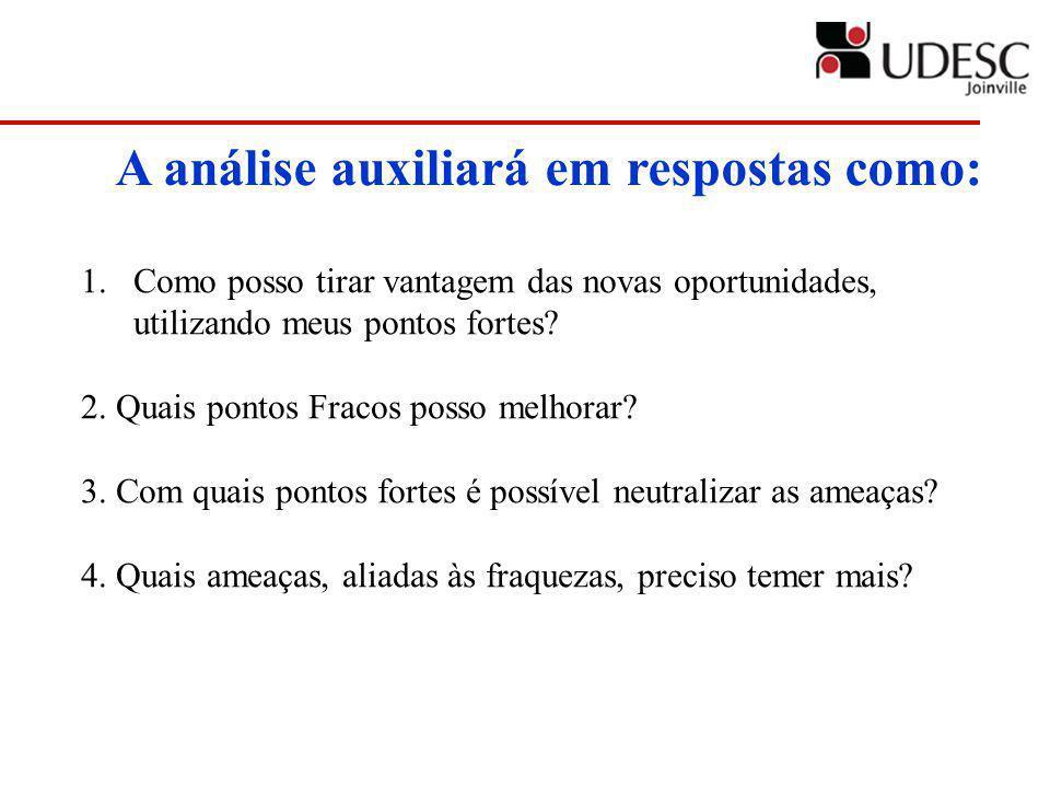 A análise auxiliará em respostas como: