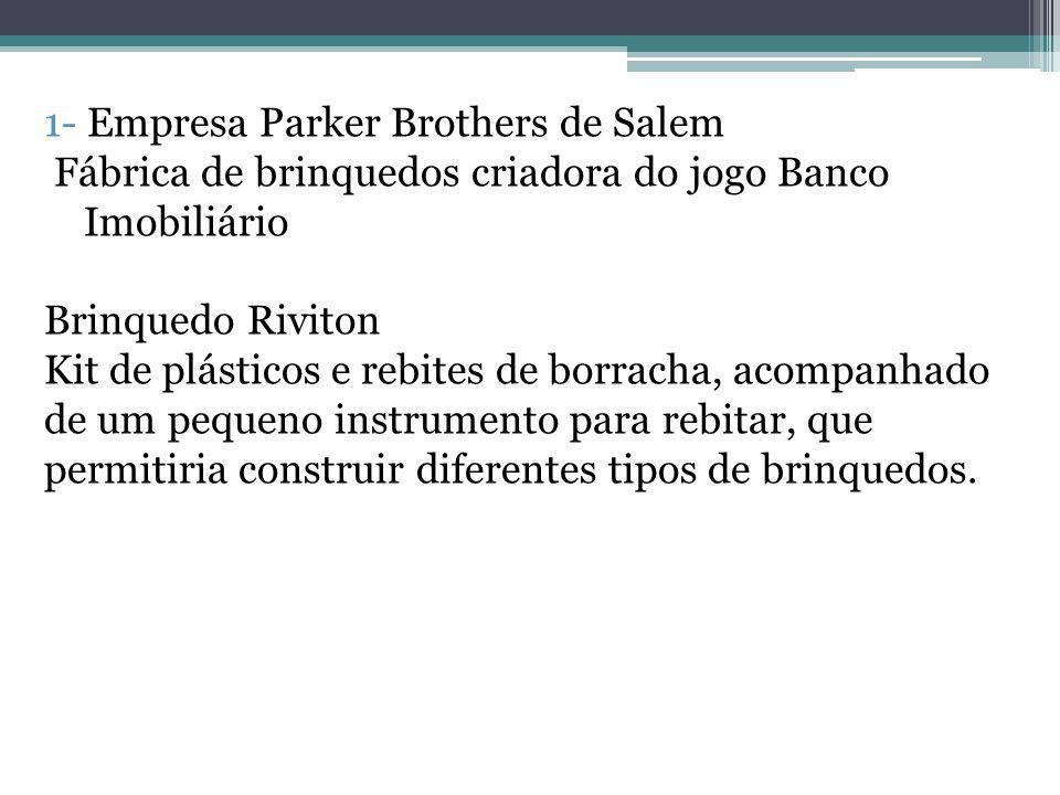 1- Empresa Parker Brothers de Salem
