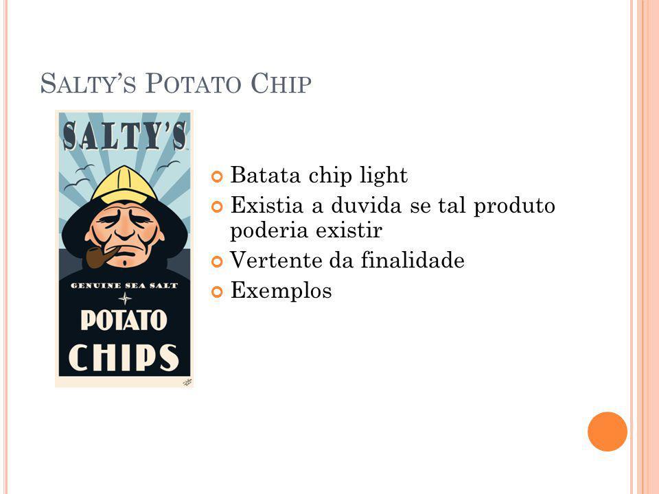 Salty's Potato Chip Batata chip light