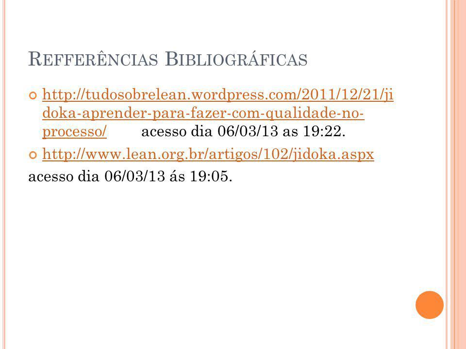 Refferências Bibliográficas