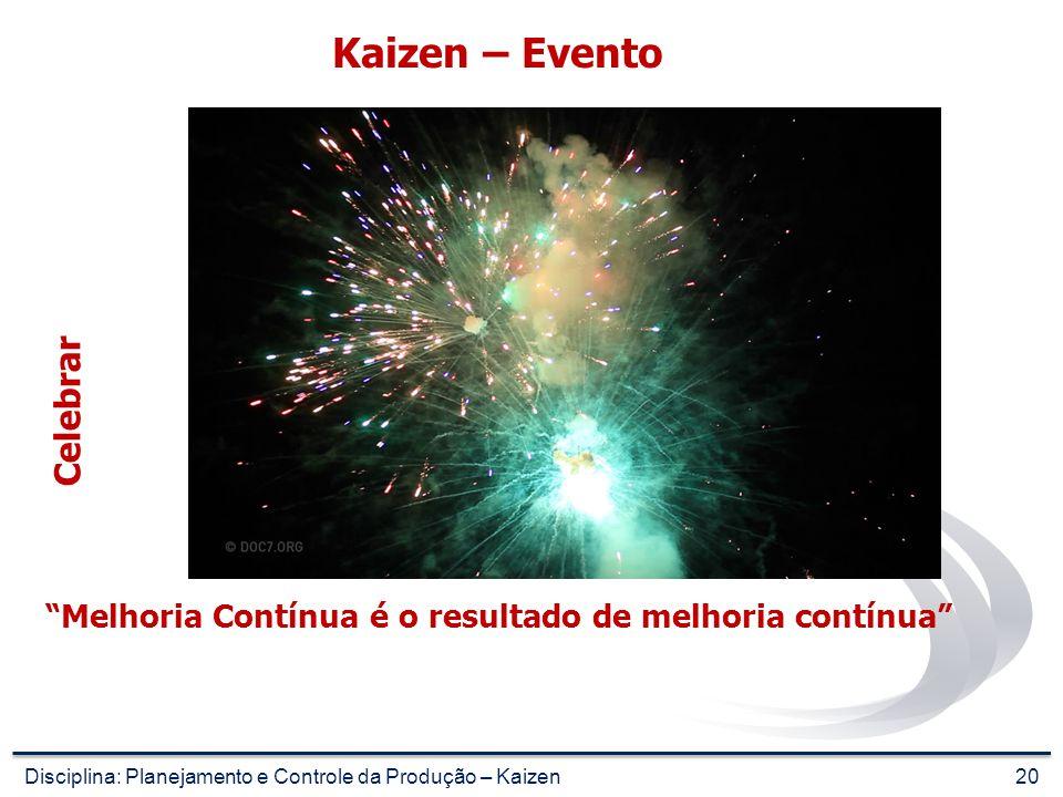 Kaizen – Evento Celebrar