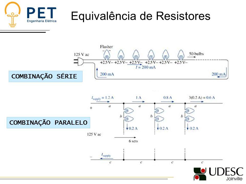Equivalência de Resistores