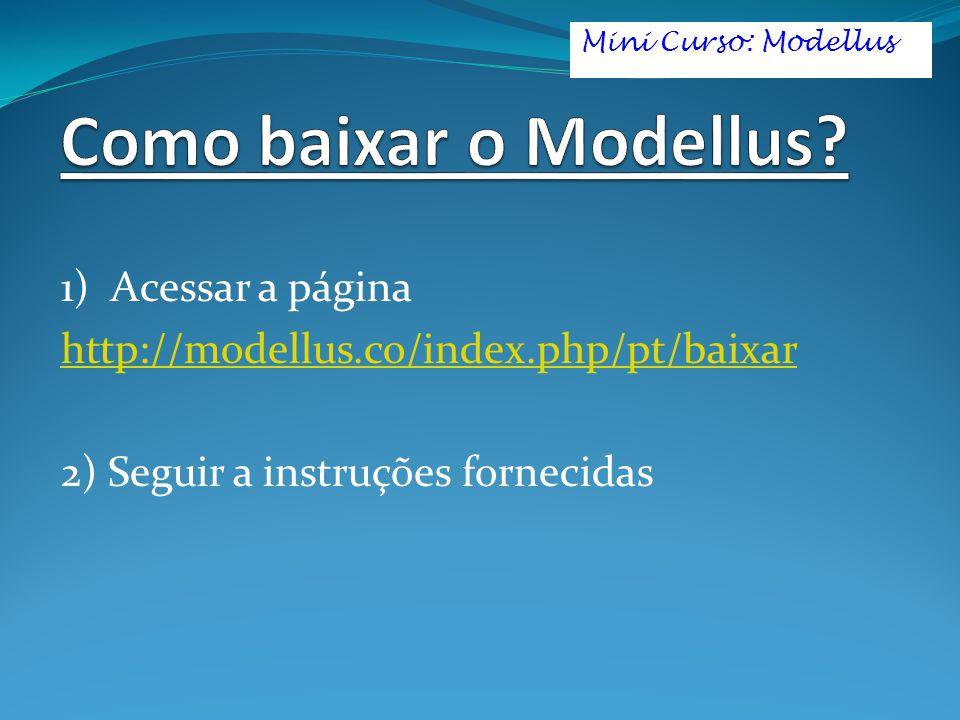 Como baixar o Modellus 1) Acessar a página