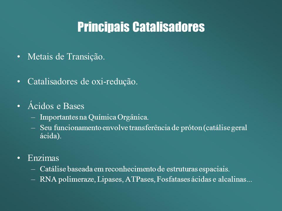 Principais Catalisadores