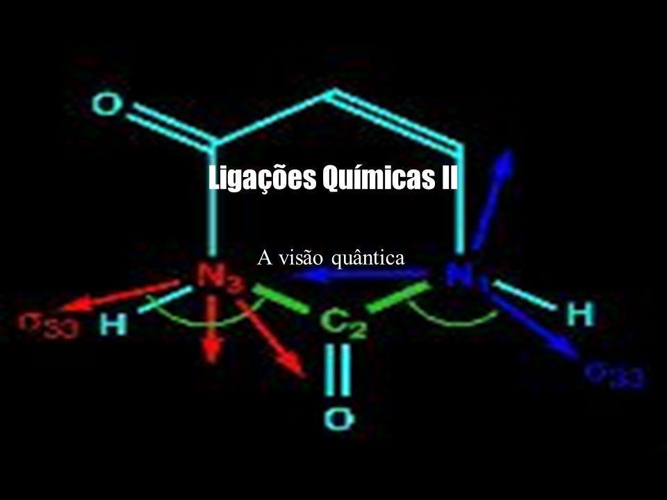 Ligações Químicas II A visão quântica