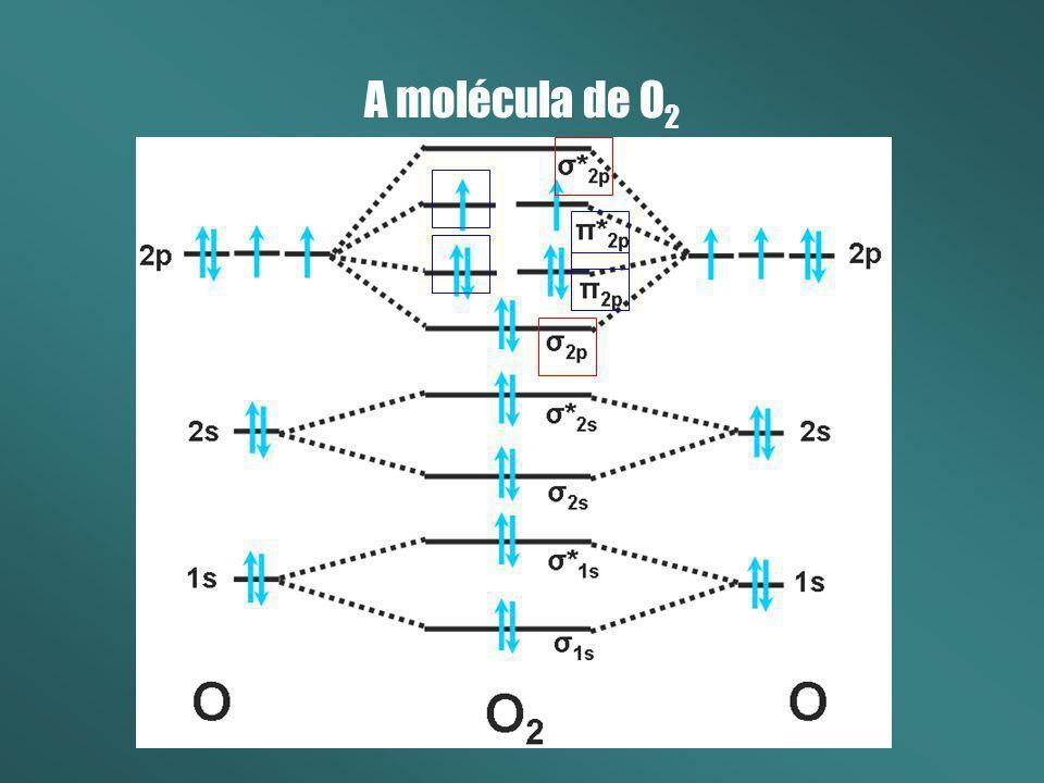 A molécula de O2