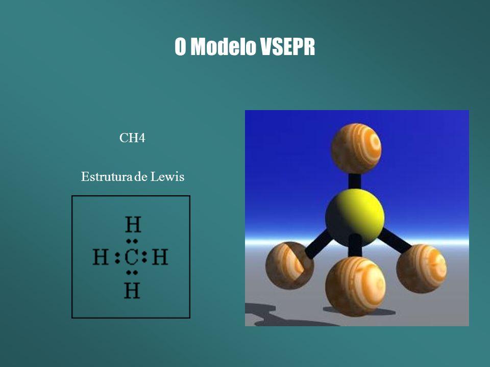 O Modelo VSEPR CH4 Estrutura de Lewis