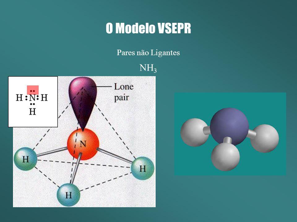 O Modelo VSEPR Pares não Ligantes NH3