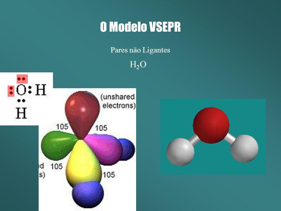 O Modelo VSEPR Pares não Ligantes H2O