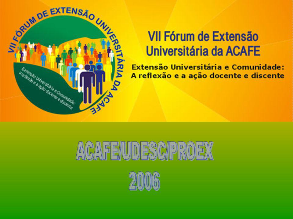 ACAFE/UDESC/PROEX 2006