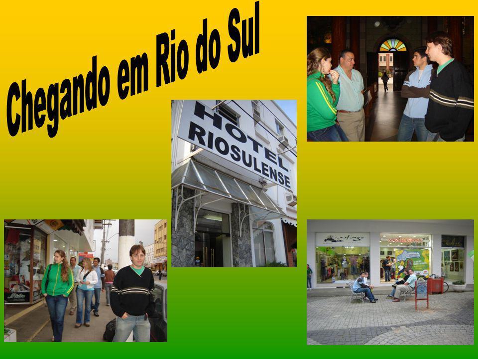 Chegando em Rio do Sul