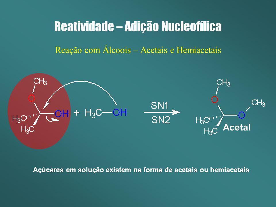 Reatividade – Adição Nucleofílica
