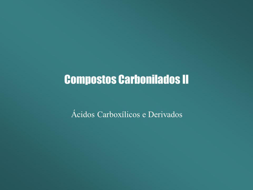 Compostos Carbonilados II