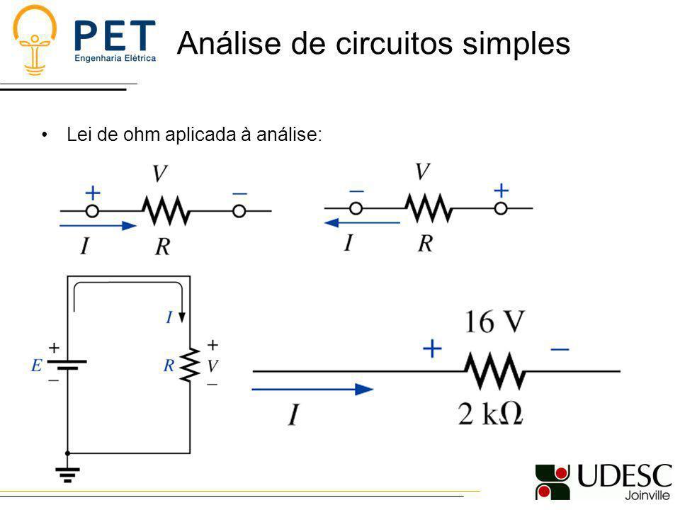 Análise de circuitos simples