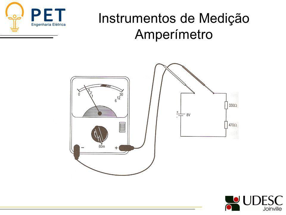 Instrumentos de Medição Amperímetro