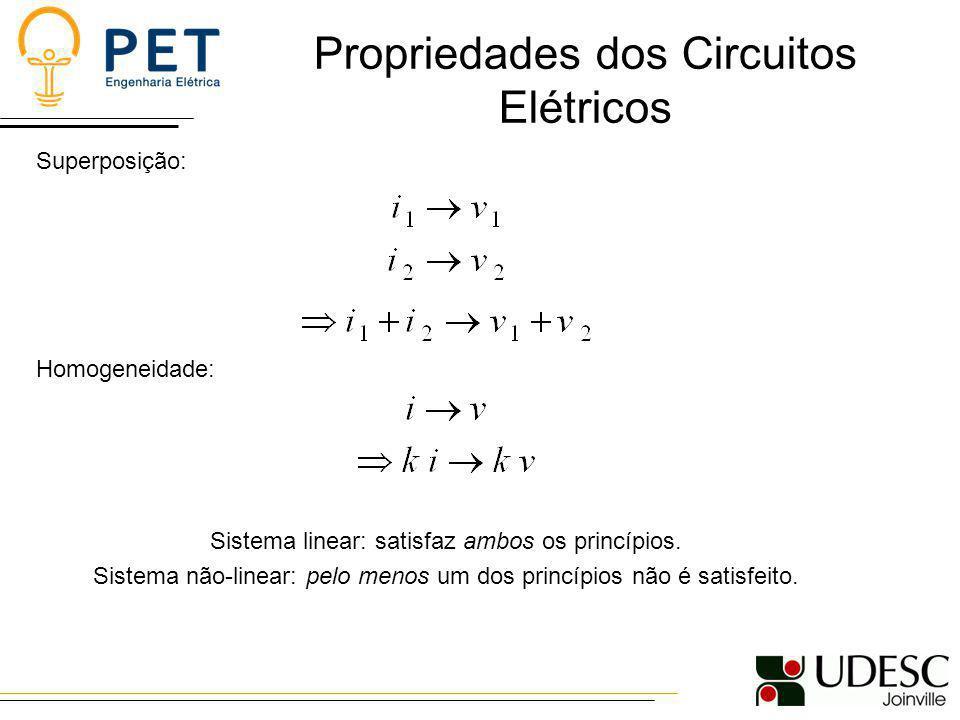 Propriedades dos Circuitos Elétricos
