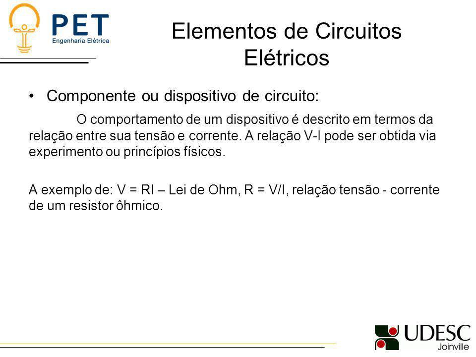 Elementos de Circuitos Elétricos