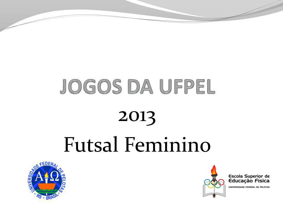 JOGOS DA UFPEL 2013 Futsal Feminino