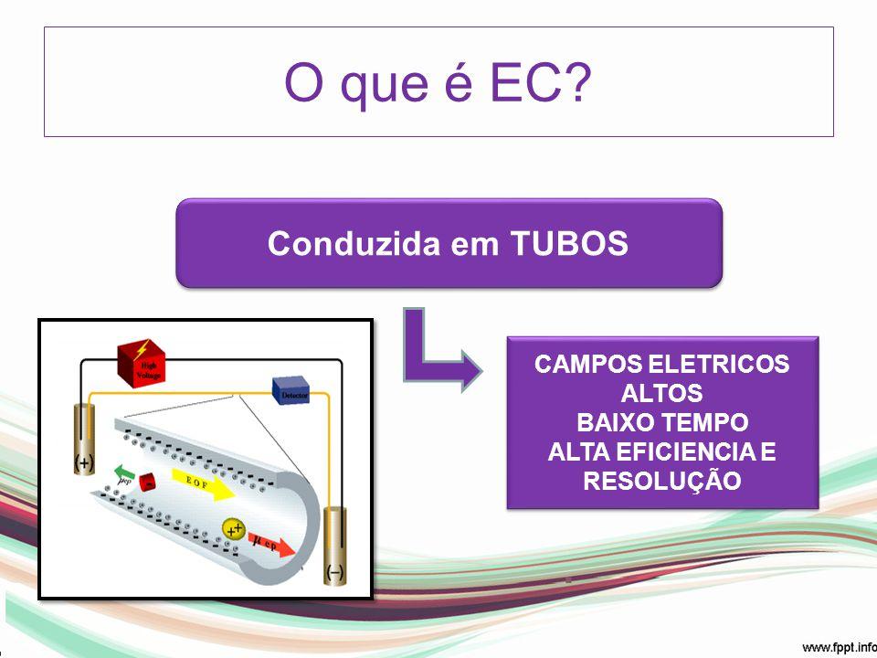 CAMPOS ELETRICOS ALTOS ALTA EFICIENCIA E RESOLUÇÃO
