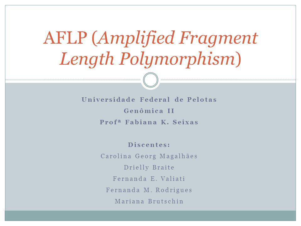 AFLP (Amplified Fragment Length Polymorphism)