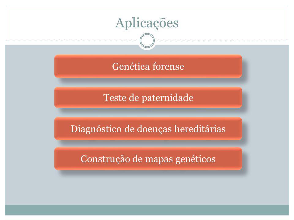 Aplicações Genética forense Teste de paternidade