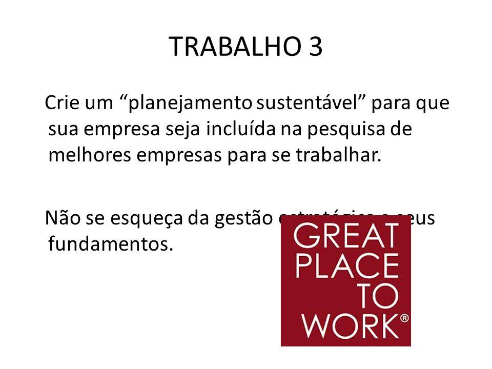 TRABALHO 3