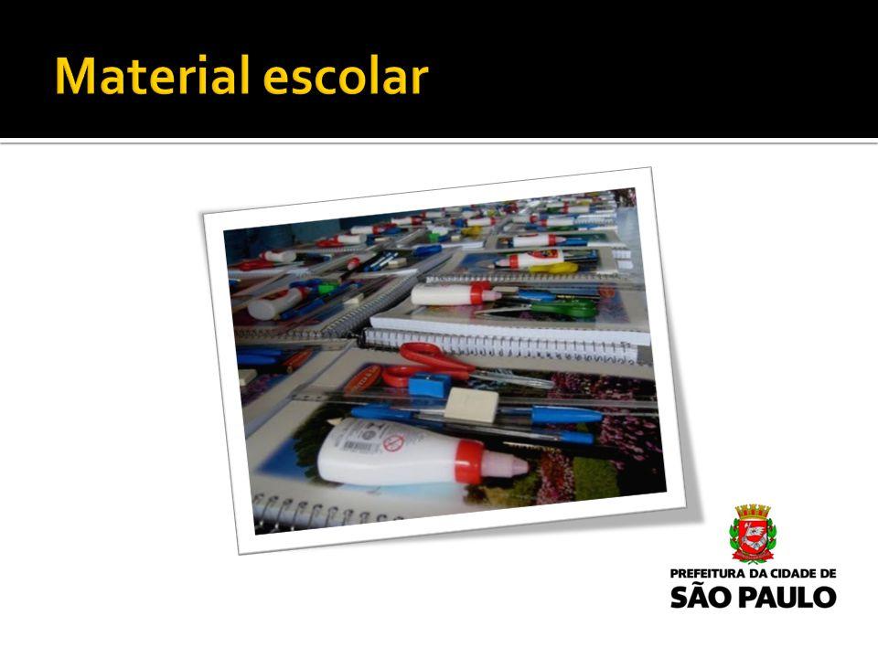 Material escolar Apresentar introdução neste slide.