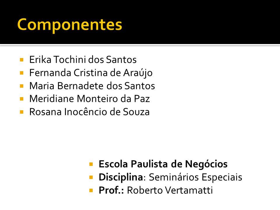 Componentes Erika Tochini dos Santos Fernanda Cristina de Araújo