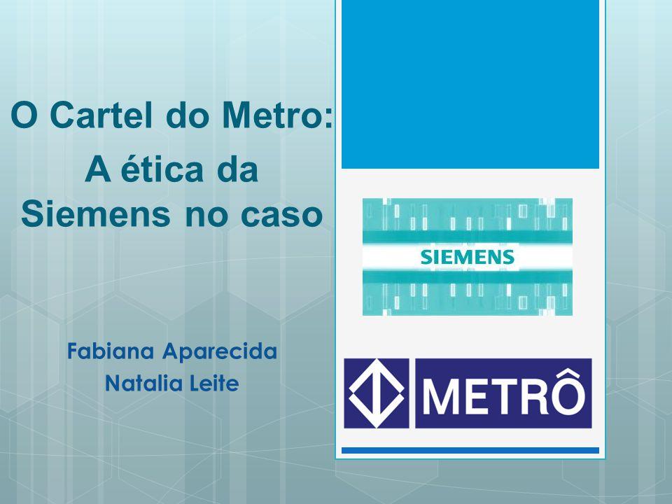 A ética da Siemens no caso